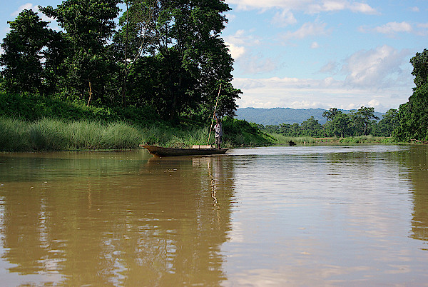 Fluss-Papti-Nepal