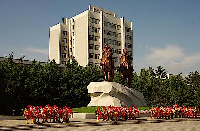 Pjoengjang-Reiterdenkmal