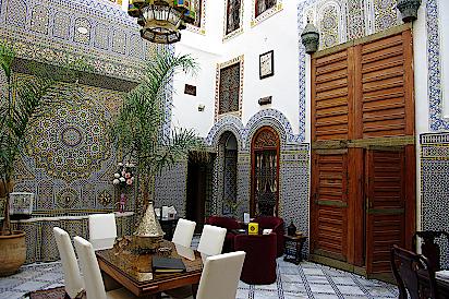 Fes-Riad-Marokko