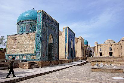 Samarkand-Nekropole-Shah-i-Sinda