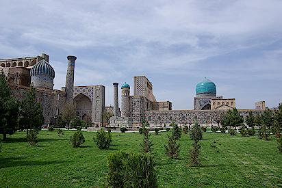 Samrakand-Registan-Platz