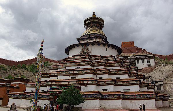 Kloster-Pelikor-Chode-Kumbum-Stupa
