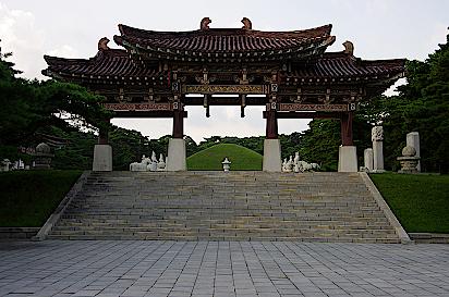 Mausoleu- von-Koenig-Tongmyong-Nordkorea
