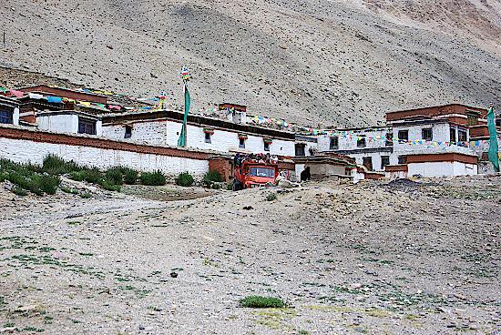 Rombuk-Kloster-Tibet