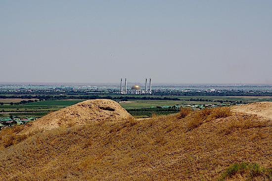 Festungsruine-Nissa-Turkmenistan