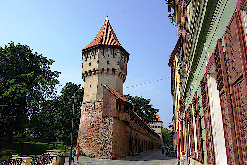 Sibiu-Wehrturm