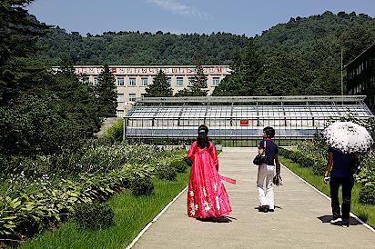 Universitaet-Wonsan-Nordkorea
