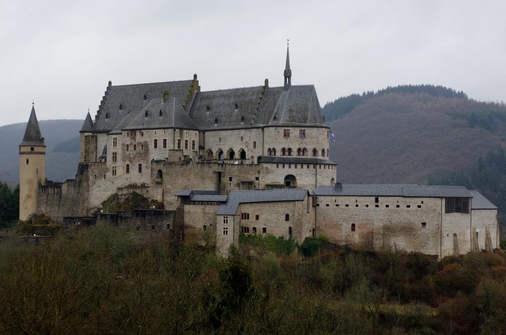 Burg-Vianden-Luxemburg