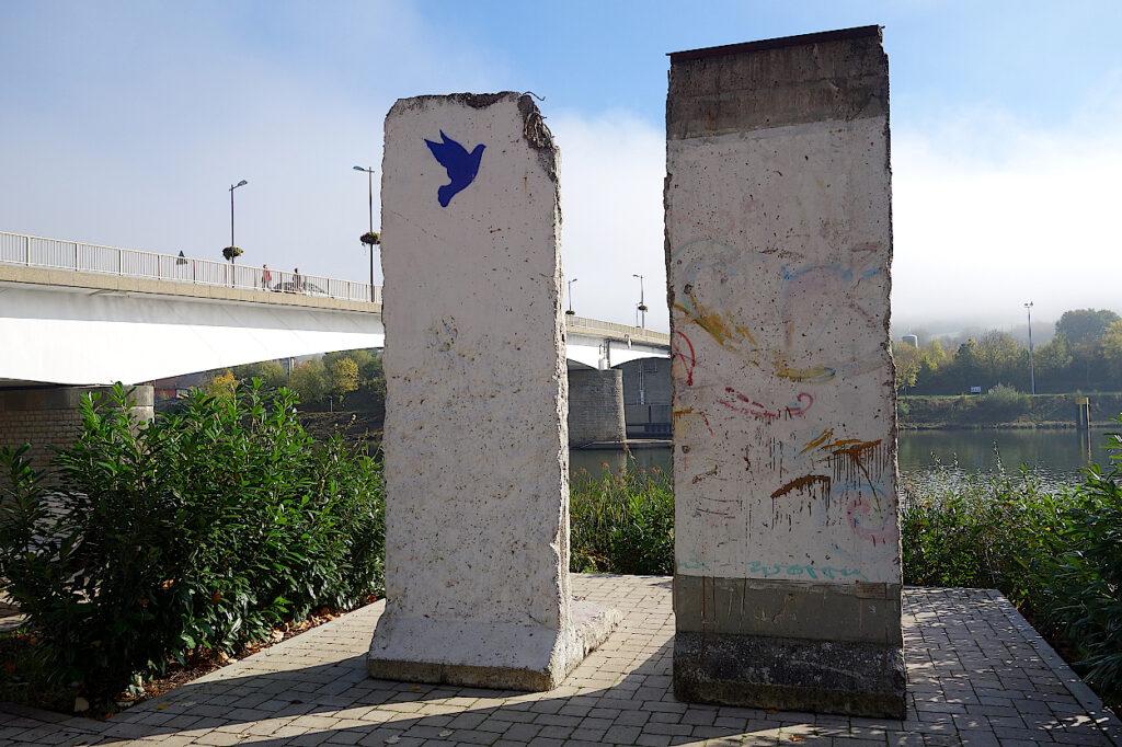 Teile-der-Berliner-Mauer -in-Schengen