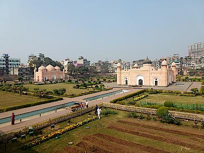 Lalbag-Fort-in-Bangladesch-Dhaka