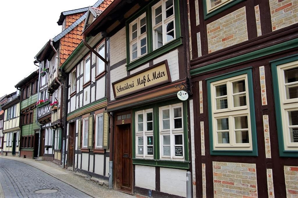 Fachwerkhaeuser-in-Wernigerode-in-Sachsen-Anhalt