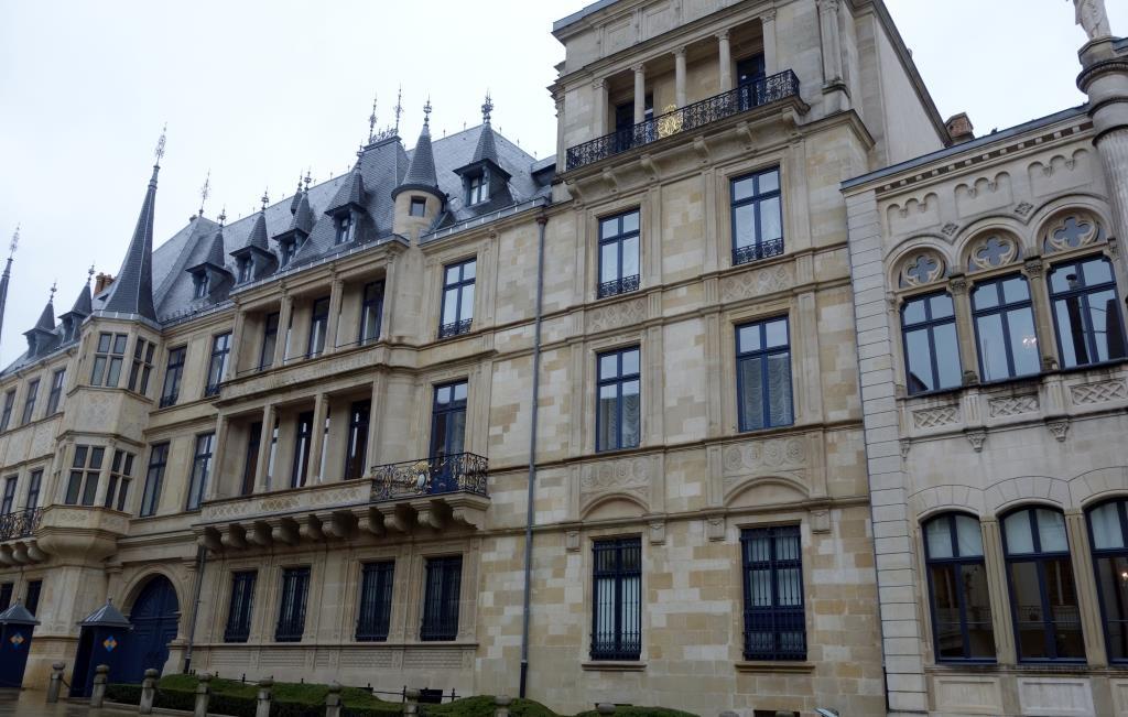 Grossherzoglicher-Palast-Luxemburg