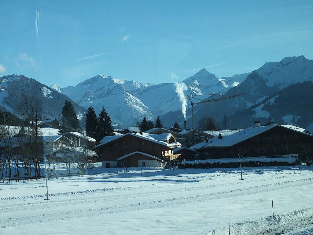 Hauser-im-Simmental-Schweiz