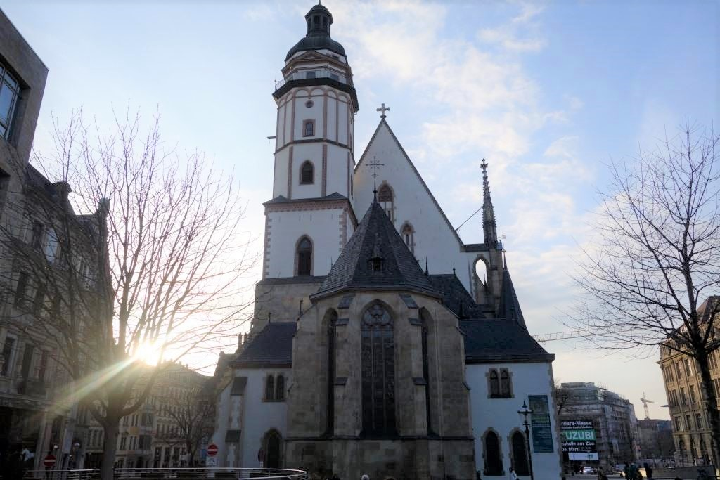 Thomaskirche-in-Leipzig-in-Sachsen