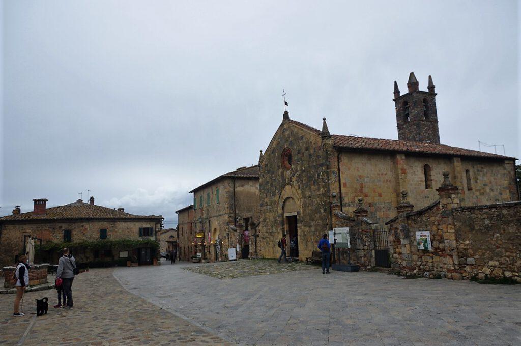Monteriggioni-in-der-Toskana