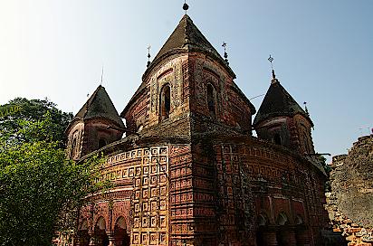 Puthia-Hindu-Tempel