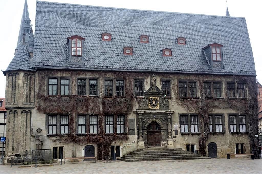 Rathaus-in-Quedlinburg-in-Sachsen-Anhalt