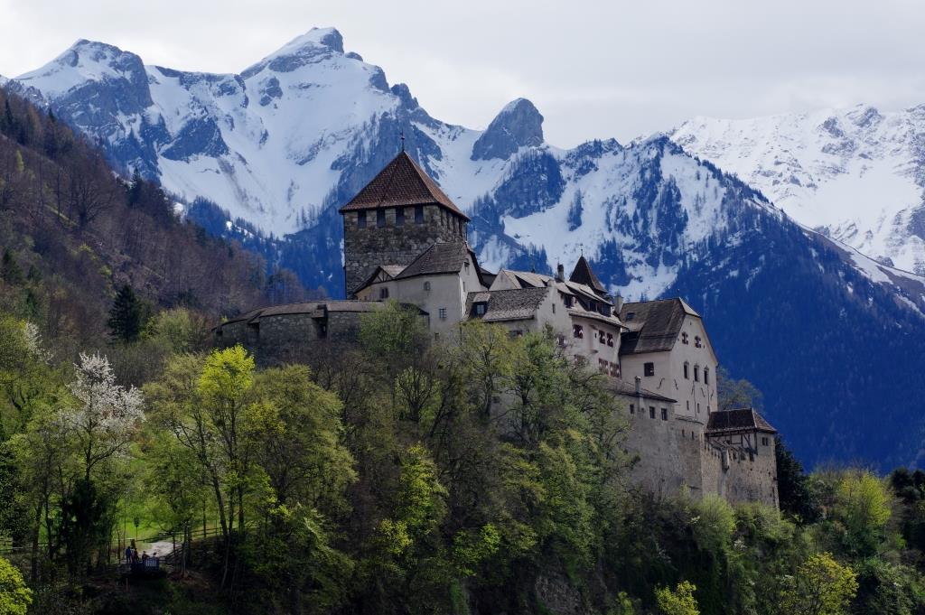 Liechtenstein-Schloss-Vaduz
