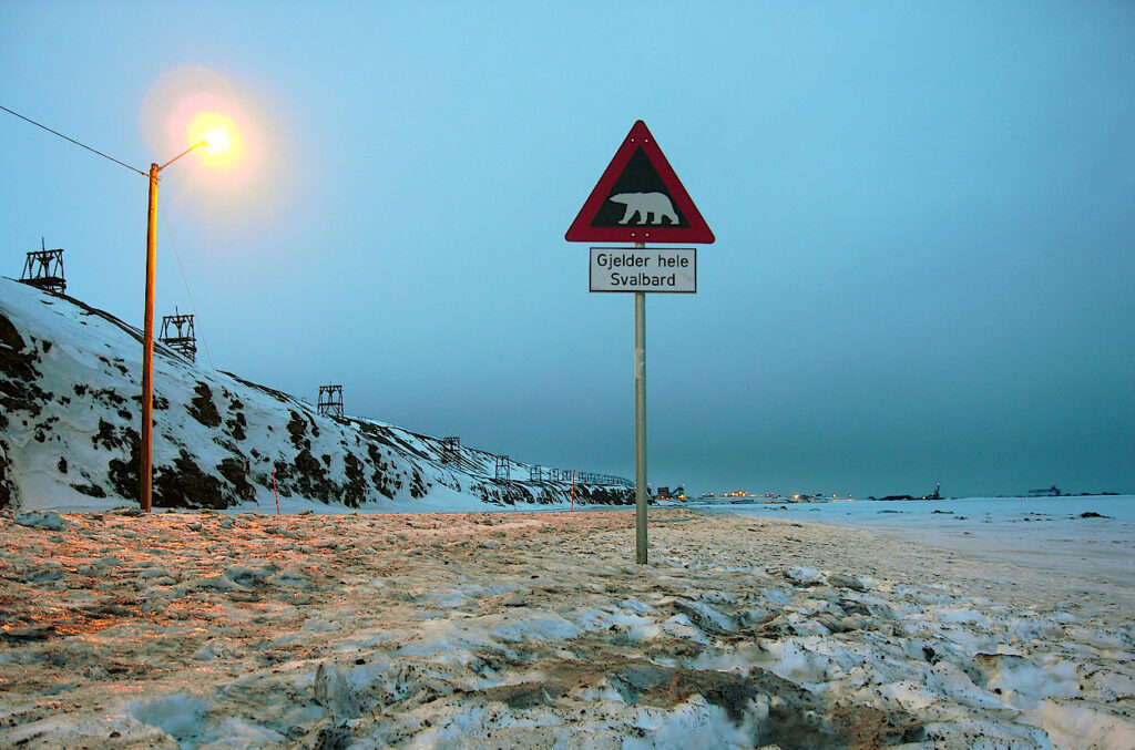 Warnung-vor-dem-Eisbaer-Schild