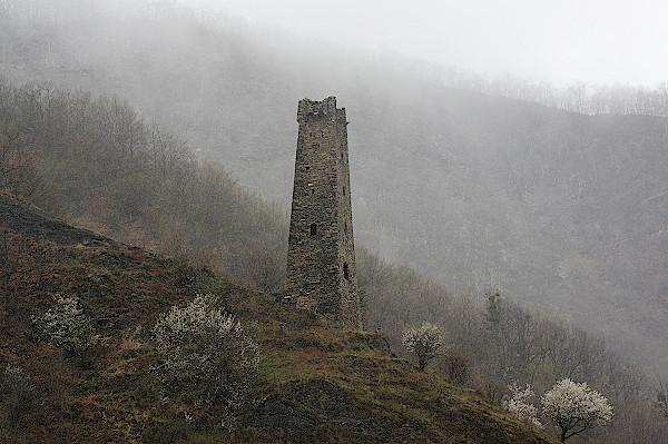 Tschetschenien-Wehrturm