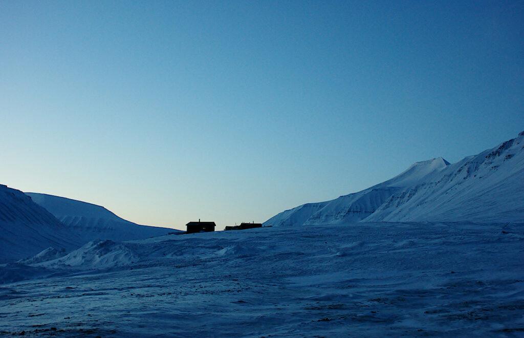 Wohnhaus-auf-Spitzbergen
