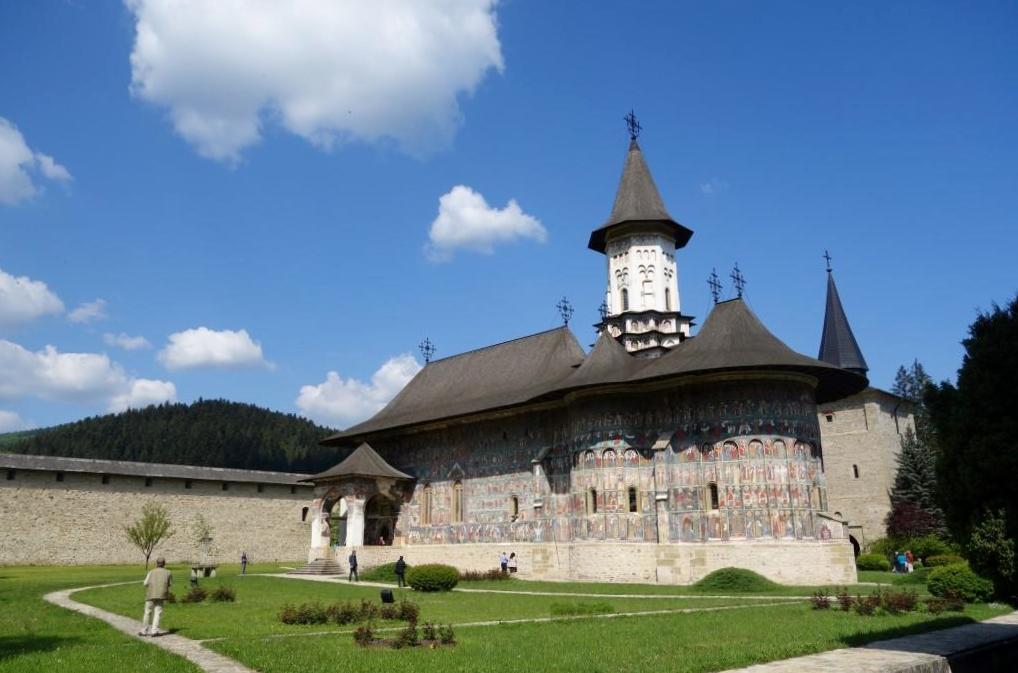 Rumaenien-Kloster-Sucevita