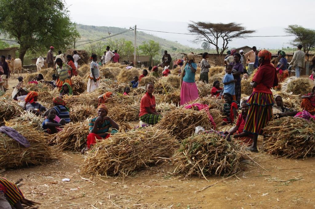 Markt-in-Aethiopien