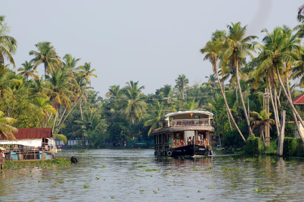 Indien-Backwaters