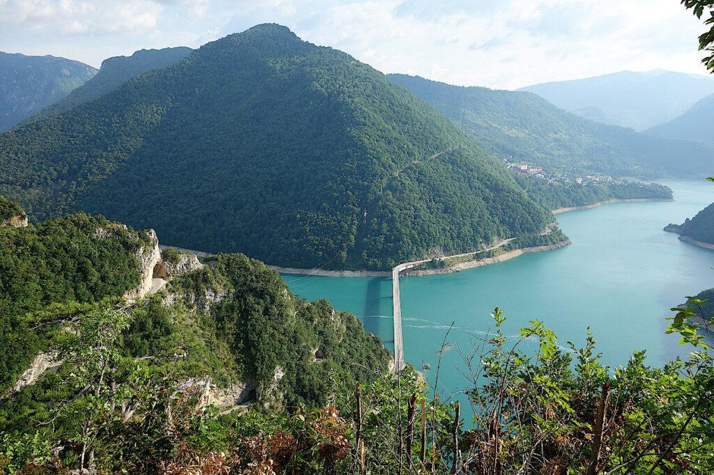 Montenegro-Fluss-Piva