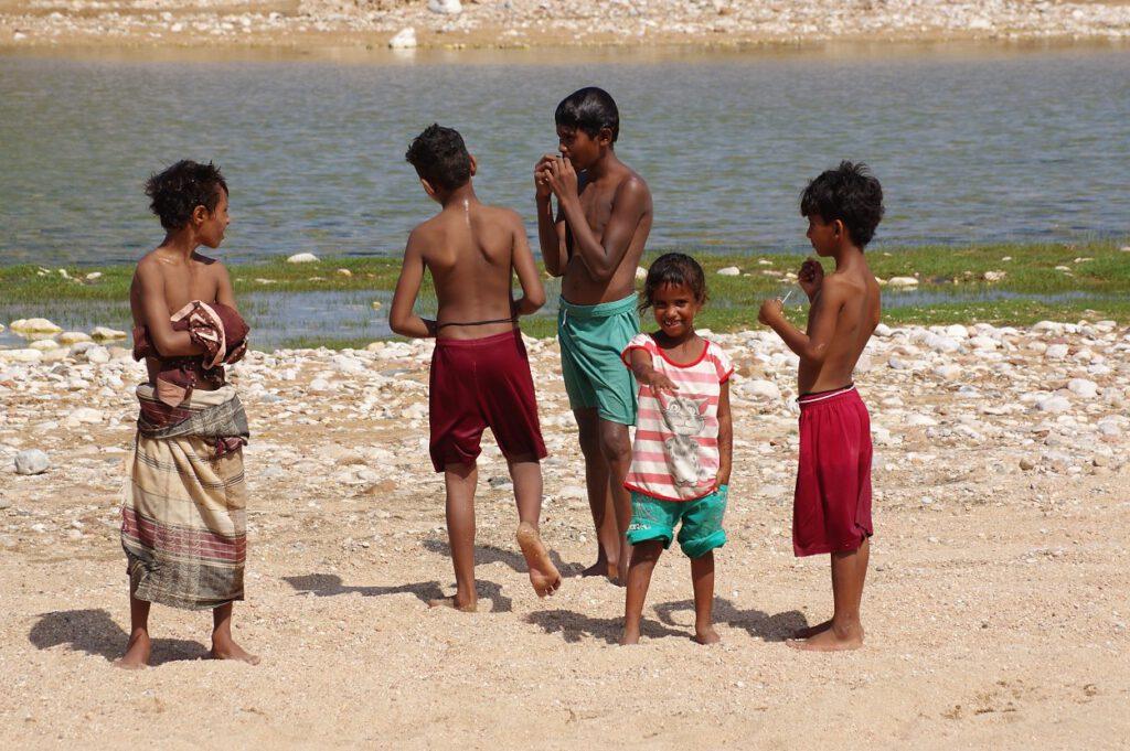 Kinder der Fischer