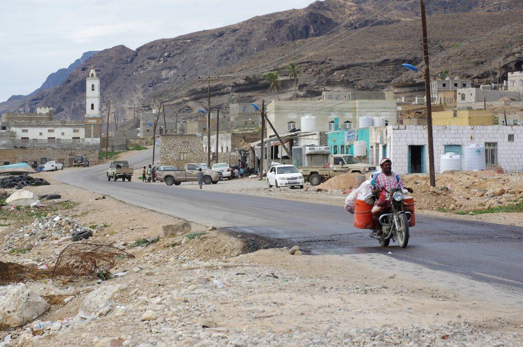 Dorf-an-der-Kueste-im-Jemen