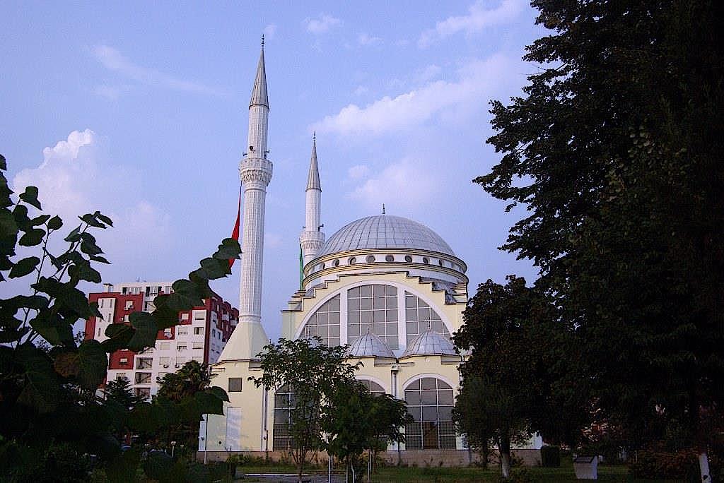 Moschee-von-Shkodra-in-Albanien