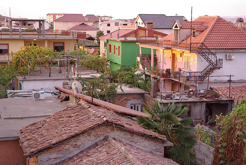 Abendsonne-in-Shkodra