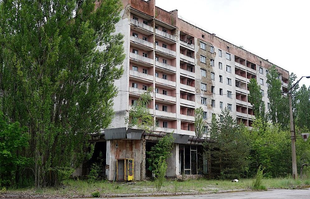 Wohnhaus-in-Prypjat-in-Tschernobyl