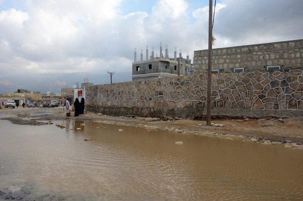 Land unter in Hadibu