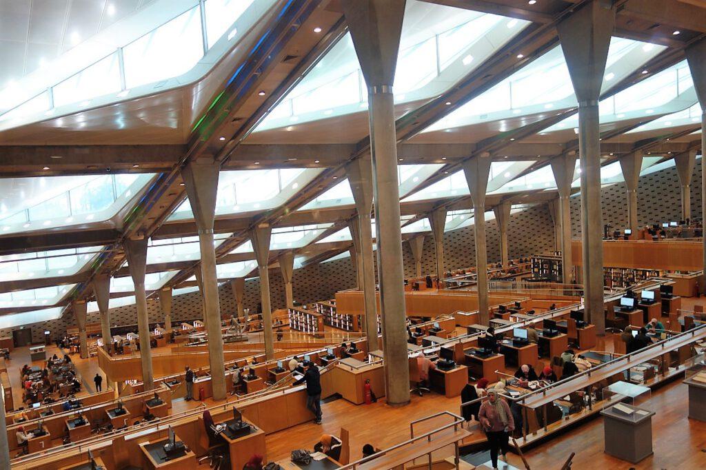 Bibliothek-von-Alexandria