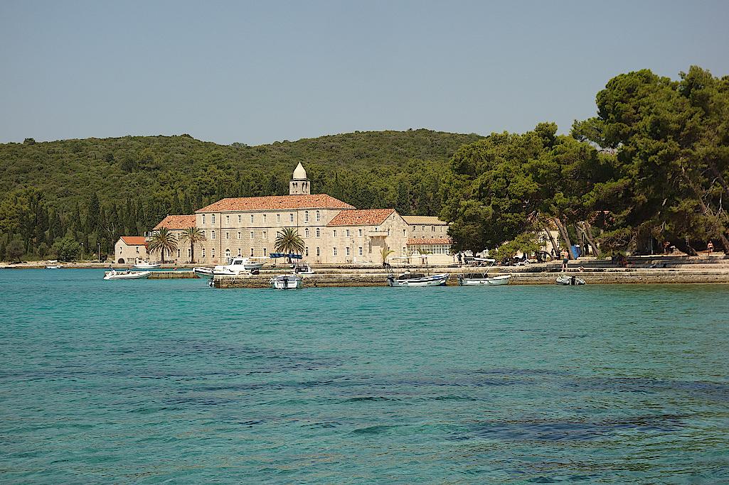 Franziskanerkloster-auf-Badija-Kroatien