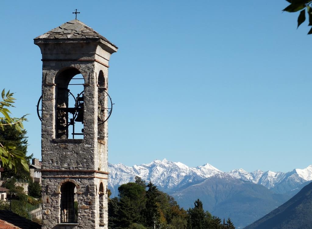 Kirchturm-von-Gandria-Schweiz
