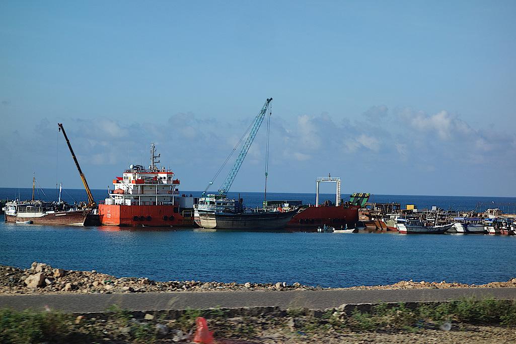 Hafen von Sokotra