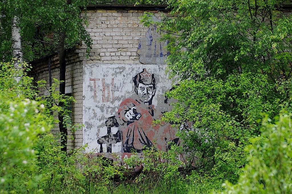Haus-in-der-Sperrzone-von-Tschernobyl
