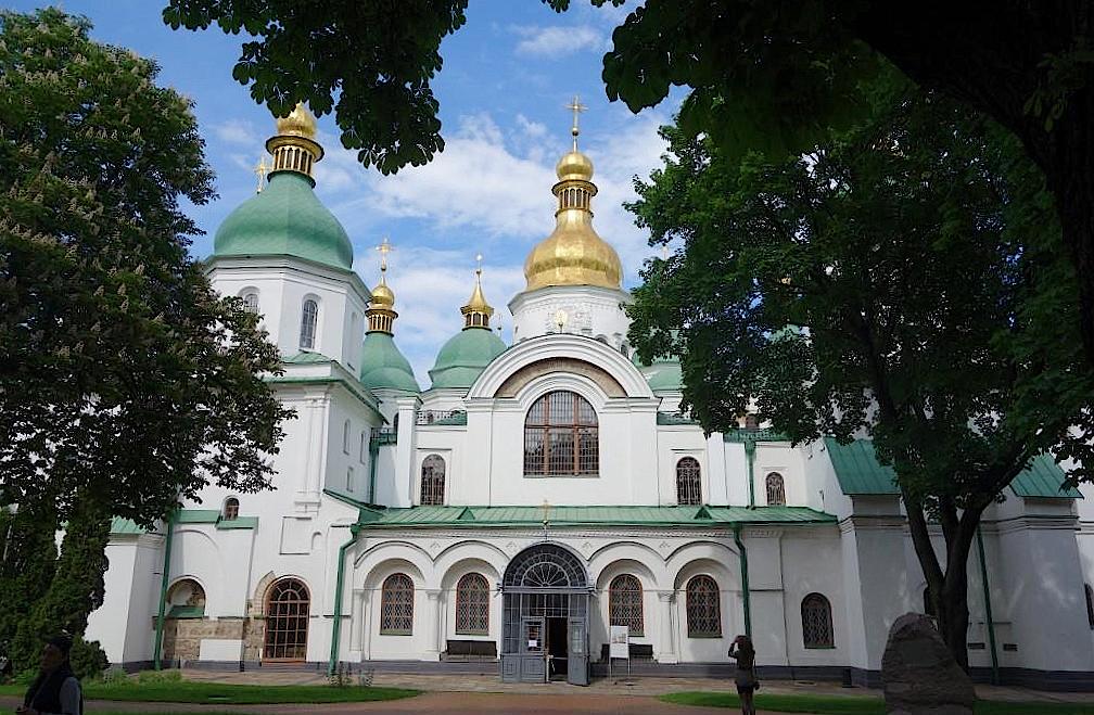 Sophienkathedrale-in-Kiew-Ukraine