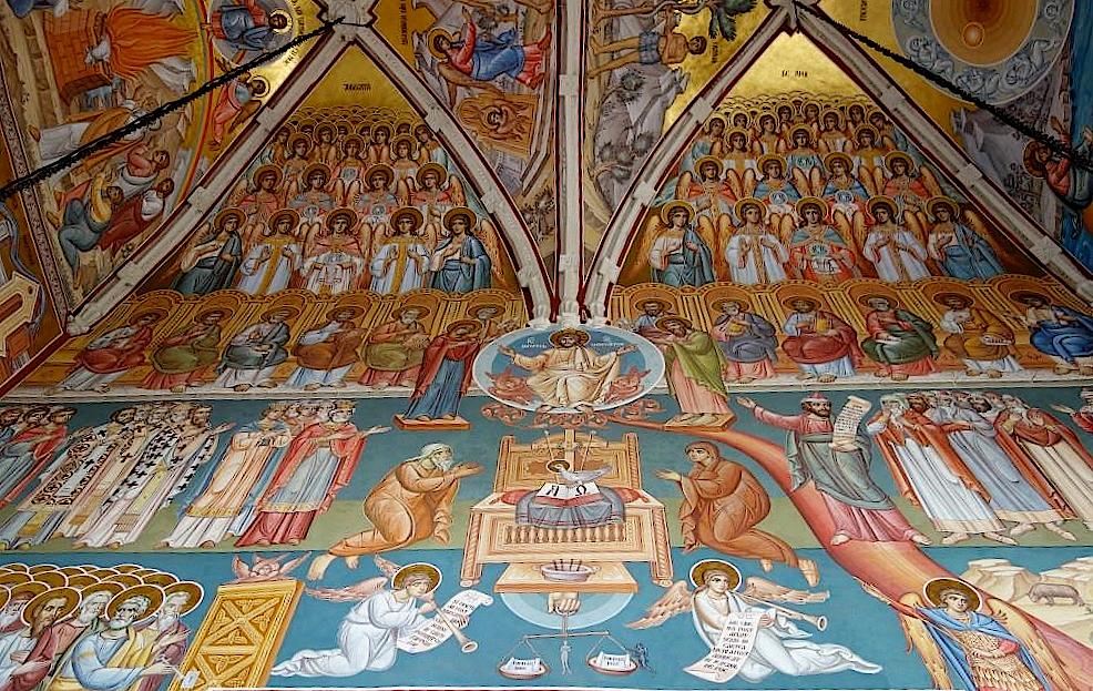 Wandmalerei-im-Kloster-Putna-in-der-Bukowina
