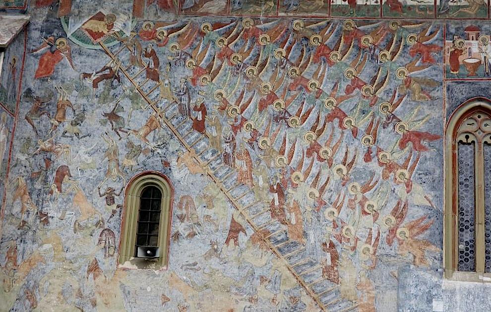 Himmelsleiter-am-Kloster-Sucevita