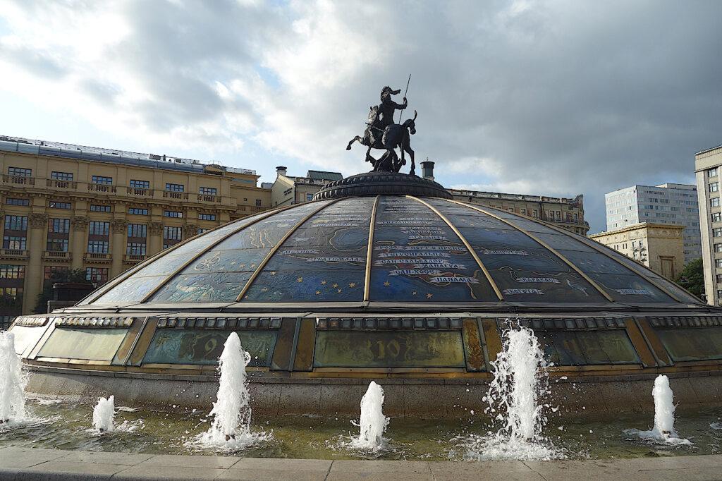 Moskau-Manegenplatz