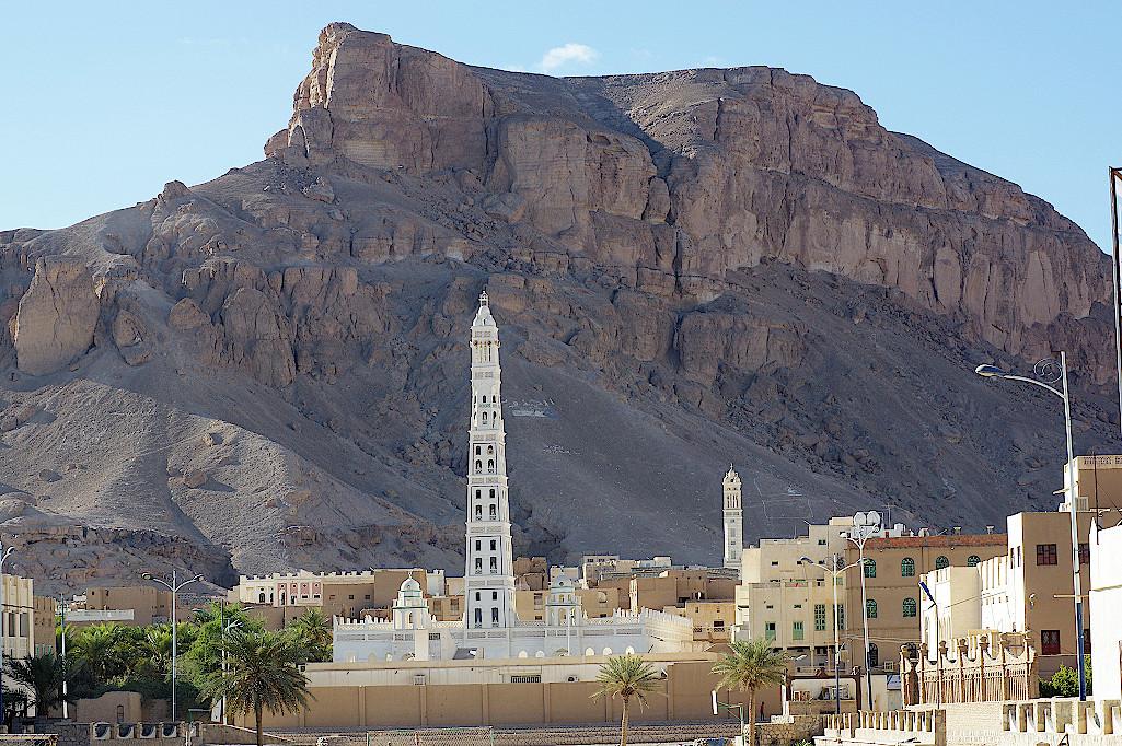 Moschee-in-Tarim-im-Jemen