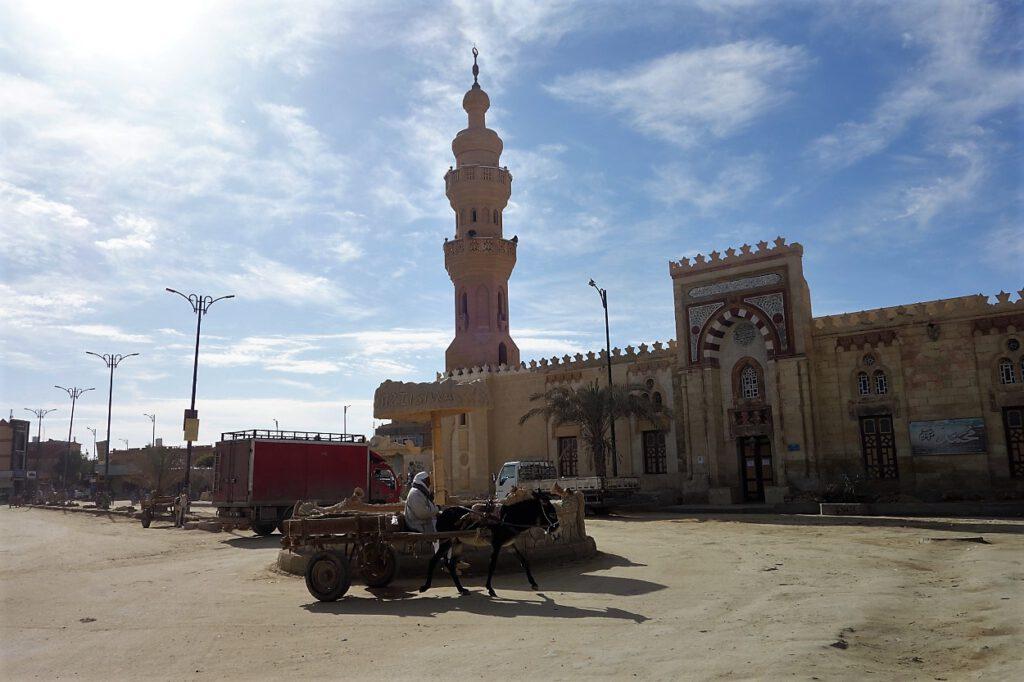 Moschee-und-Fuhrwerk