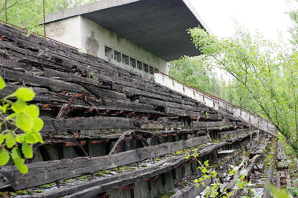 Stadion-in-Prypjat-in-Tschernobyl