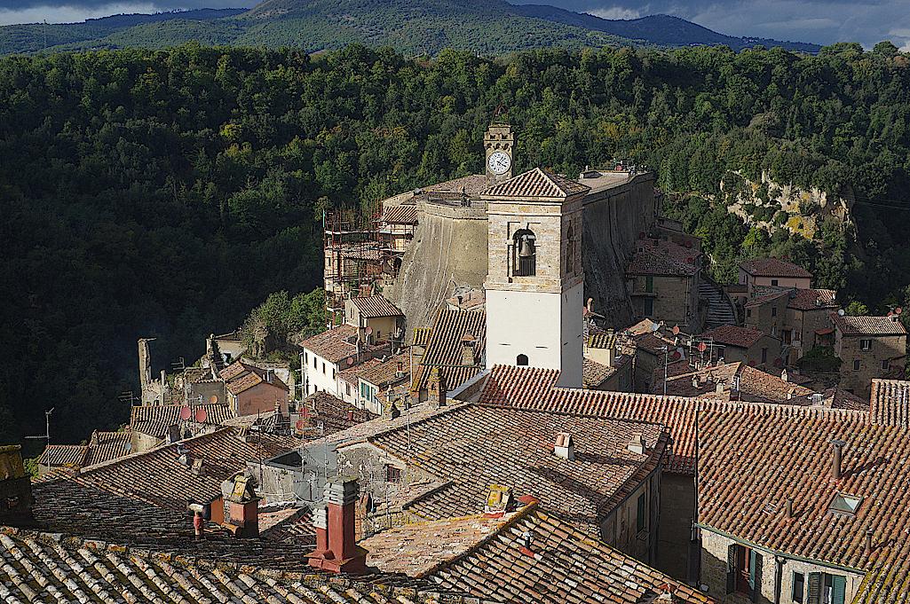 Sorano-in-der-Toskana