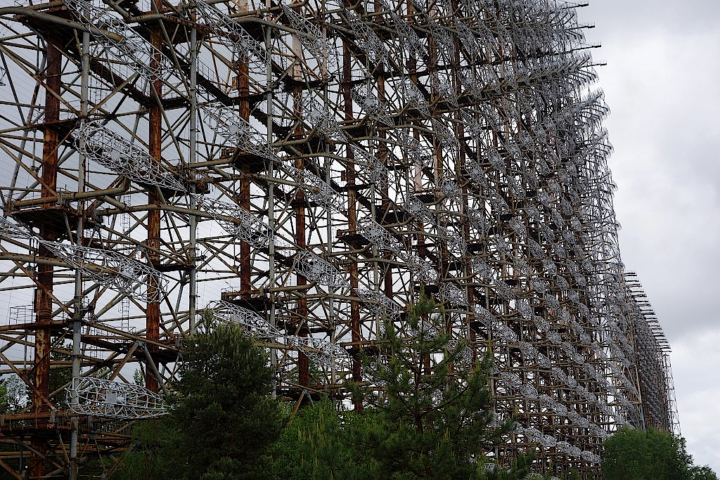 Tschernobyl-Ueberhorizontradar