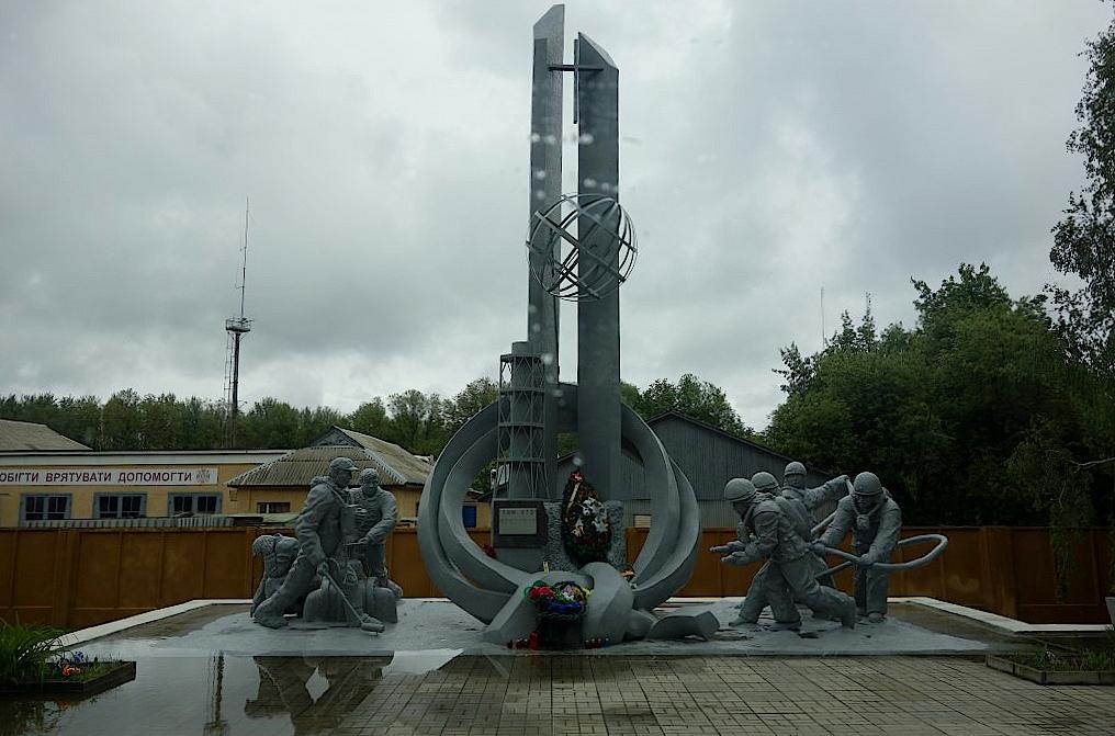 Denkmal-in-Tschernobyl